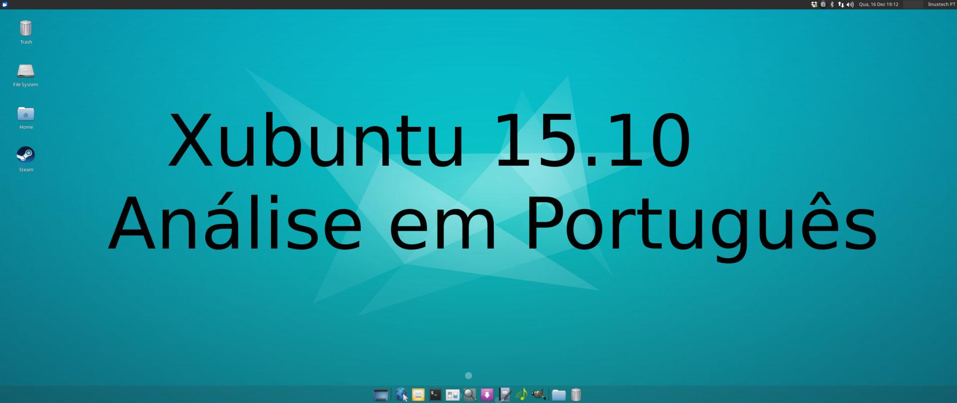 Xubuntu 15.10 – Análise