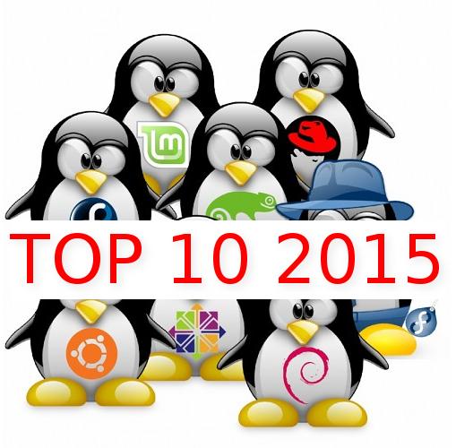 TOP 10 – Distribuições GNU/Linux mais procuradas  de 2015