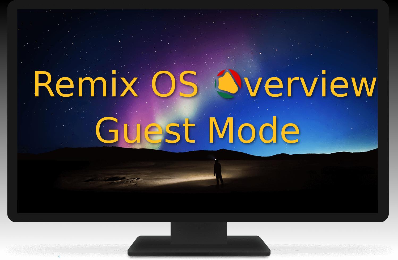 Remix OS – O Android para o seu PC