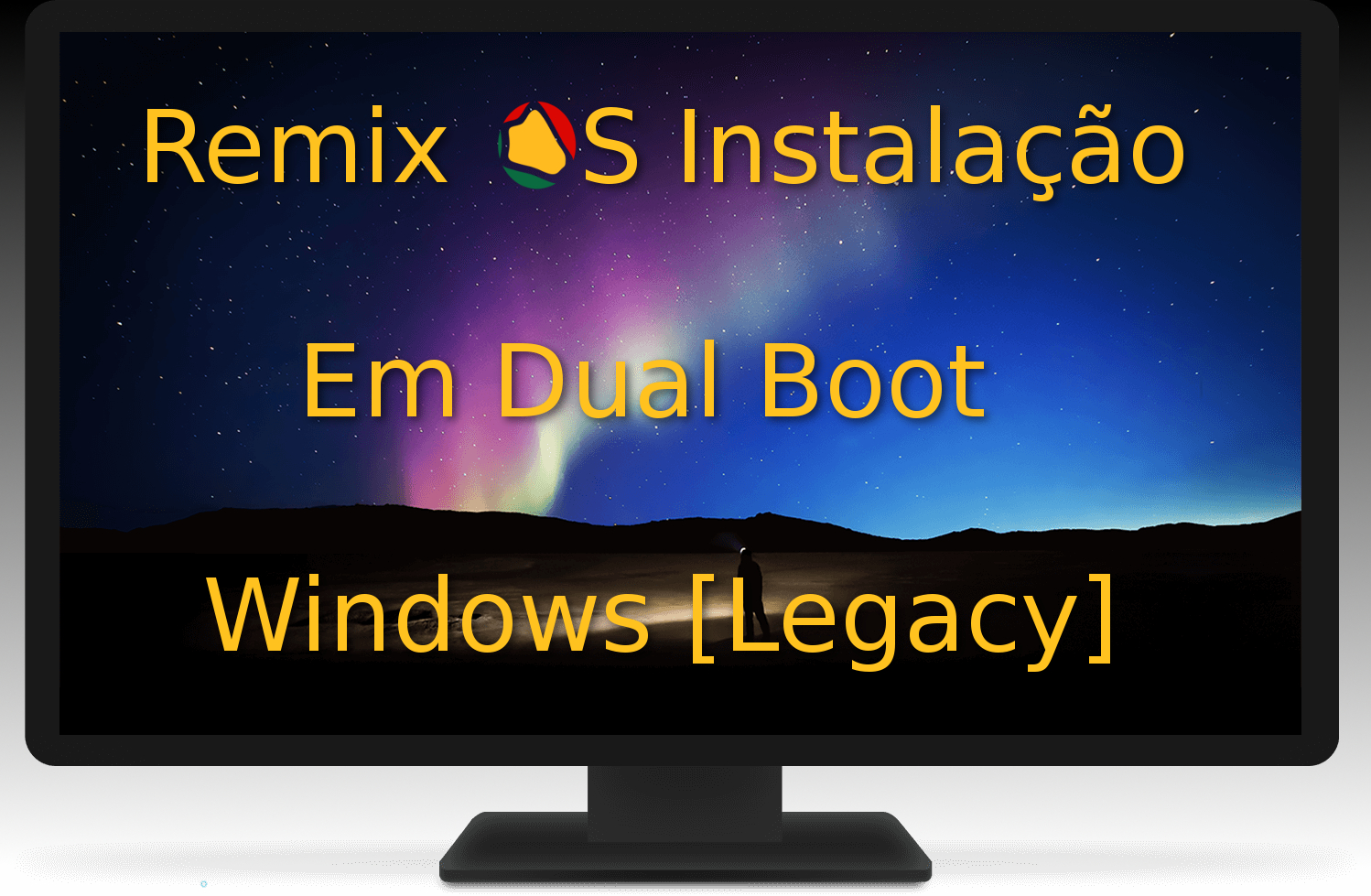 Remix OS – Dual Boot [Windows BIOS Legacy]