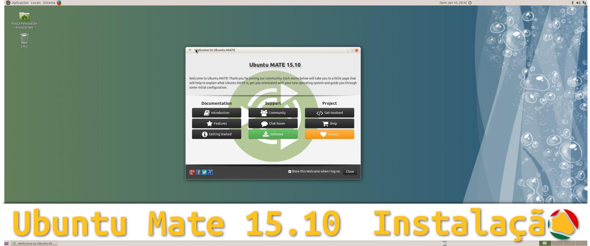 Ubuntu Mate 15.10 – Aprenda a instalar