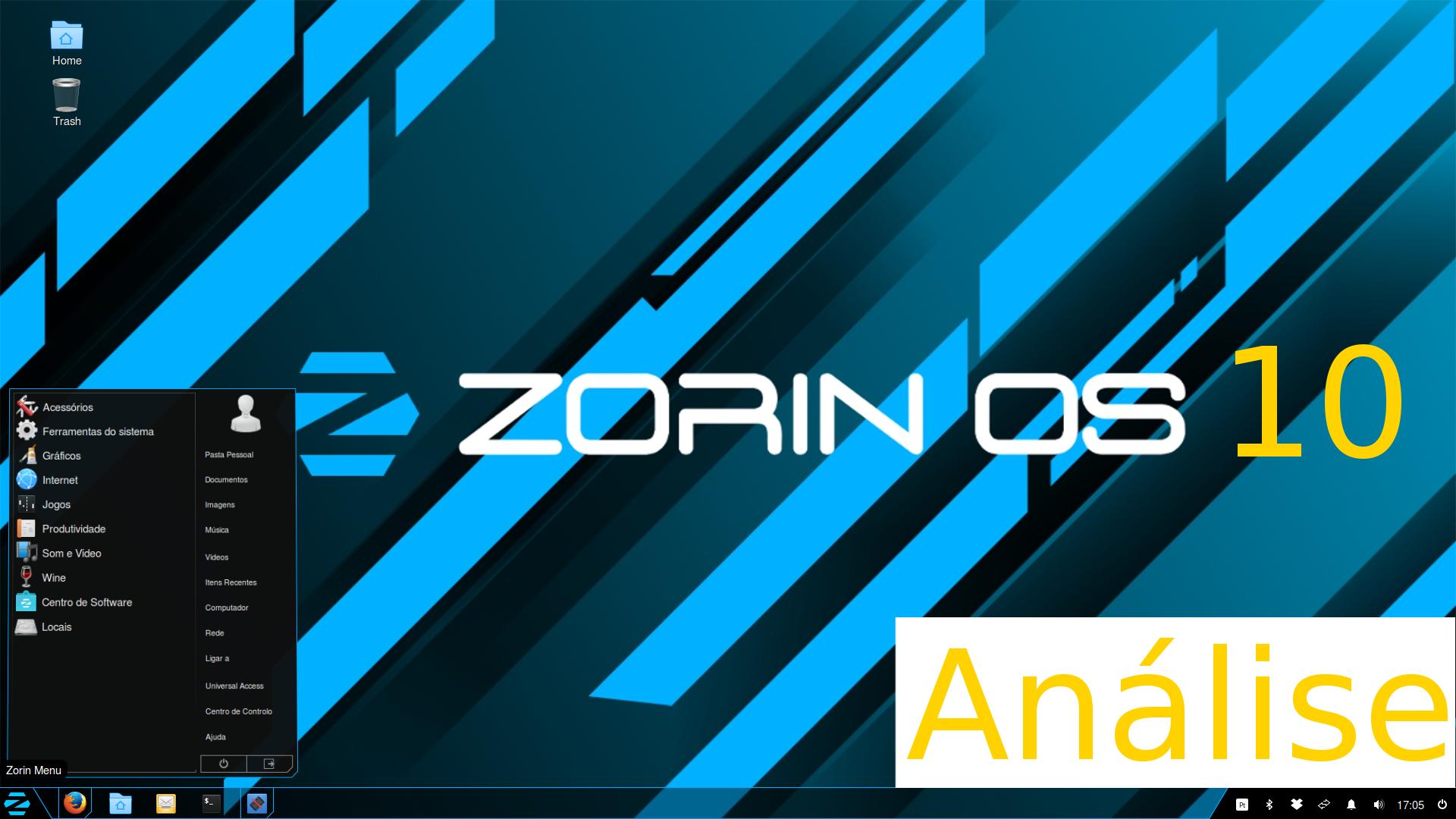 Zorin 10 Core (Gnu/Linux) – Análise em Português