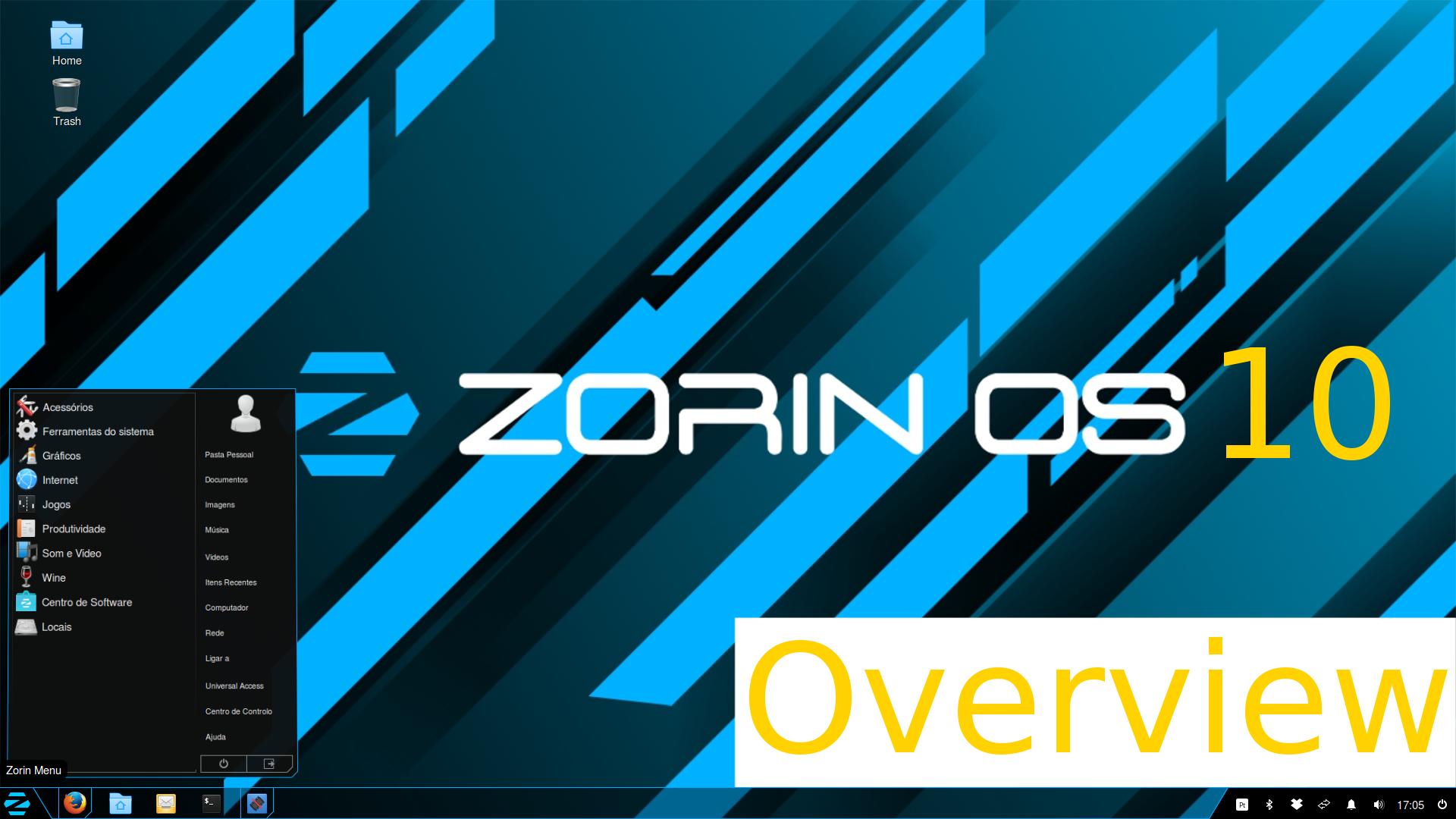 Zorin 10 Core – Visão Geral