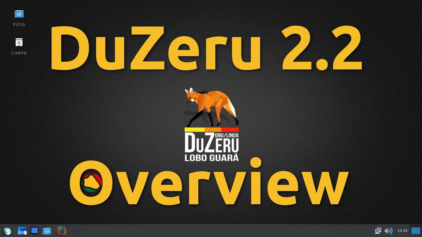 DuZeru Versão 2.2 – Uma bonita distribuição brasileira