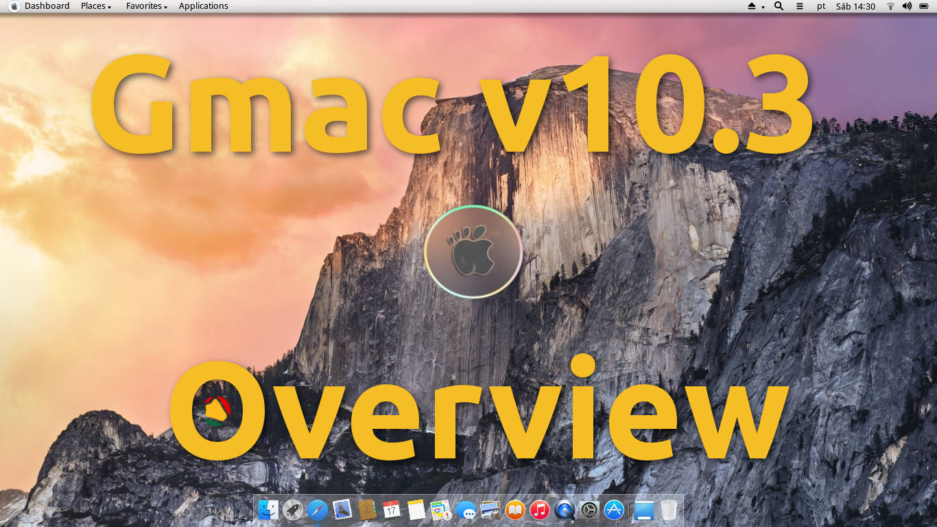 Gnome + Mac = Gmac (v10.3) – Deixe o seu sistema igual ao MAC