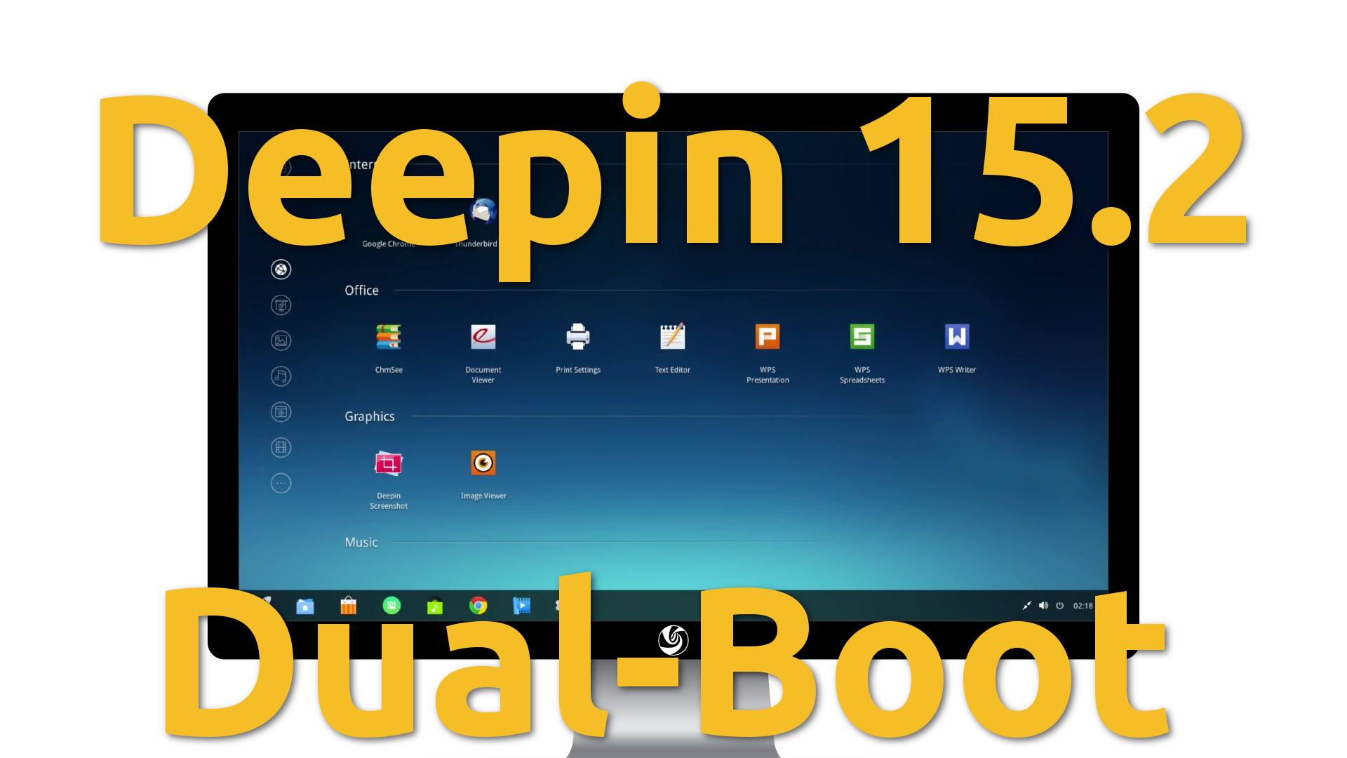 Deepin 15.2 – Instalação Dual-Boot
