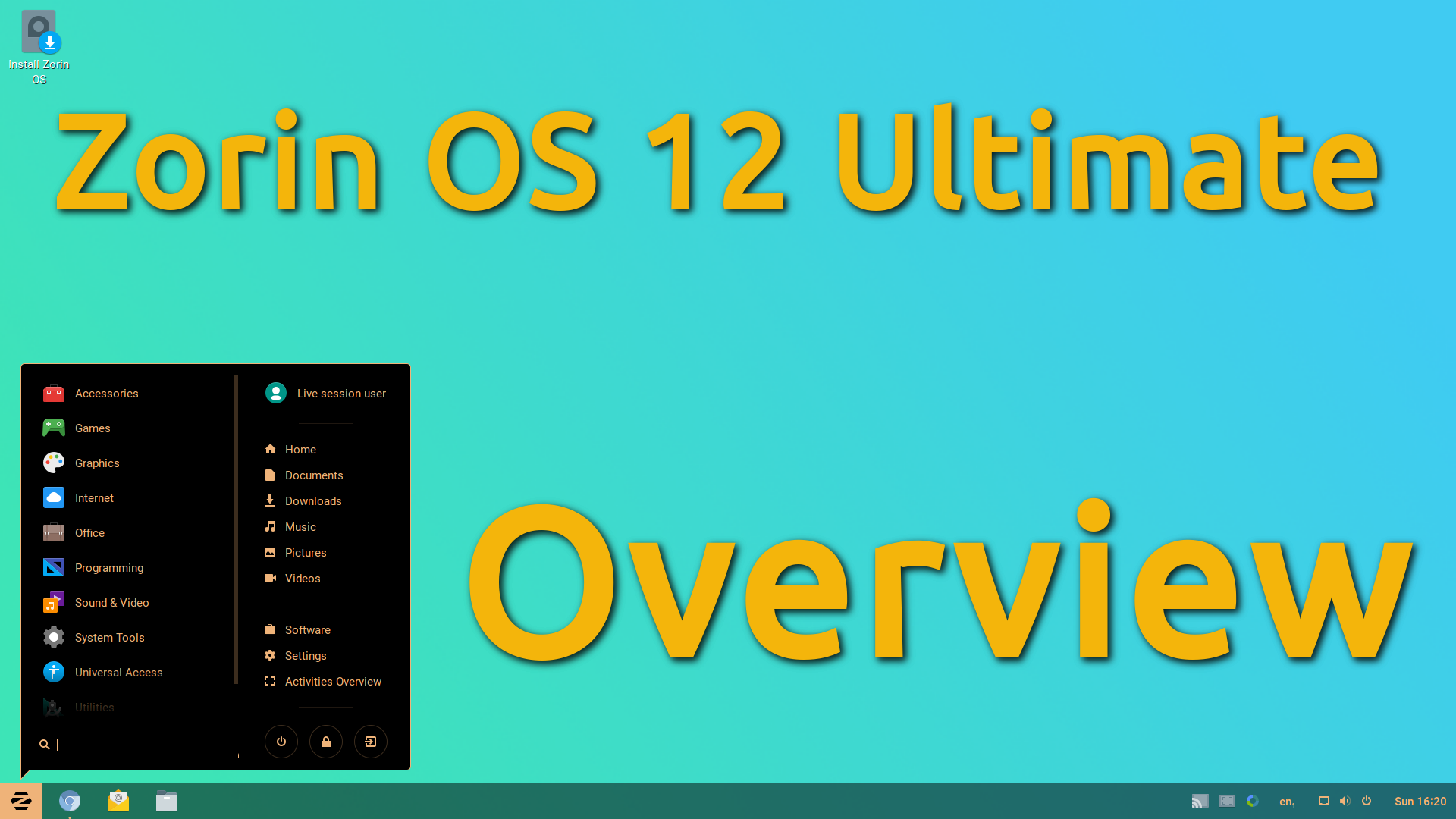 Zorin OS 12 Ultimate – Overview