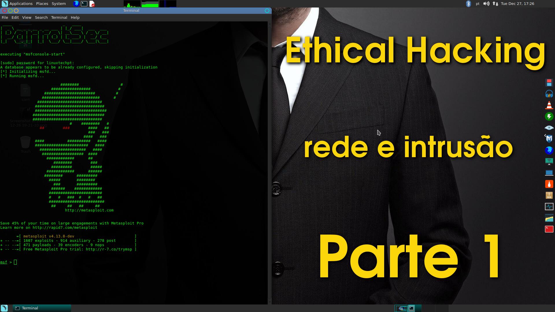 Ethical Hacking – Teste de rede e intrusão (Parte 1)