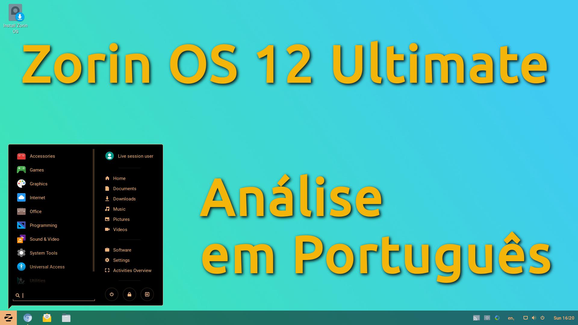 Zorin OS 12 Ultimate – Análise em Português