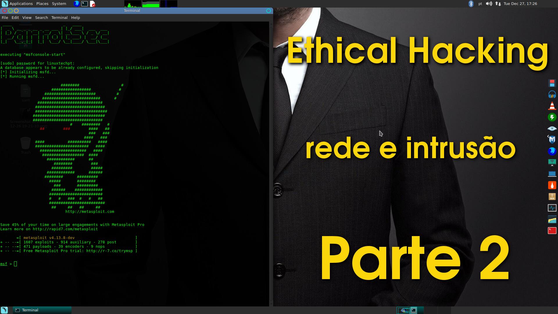 Ethical Hacking – Teste de rede e intrusão (Parte 2)